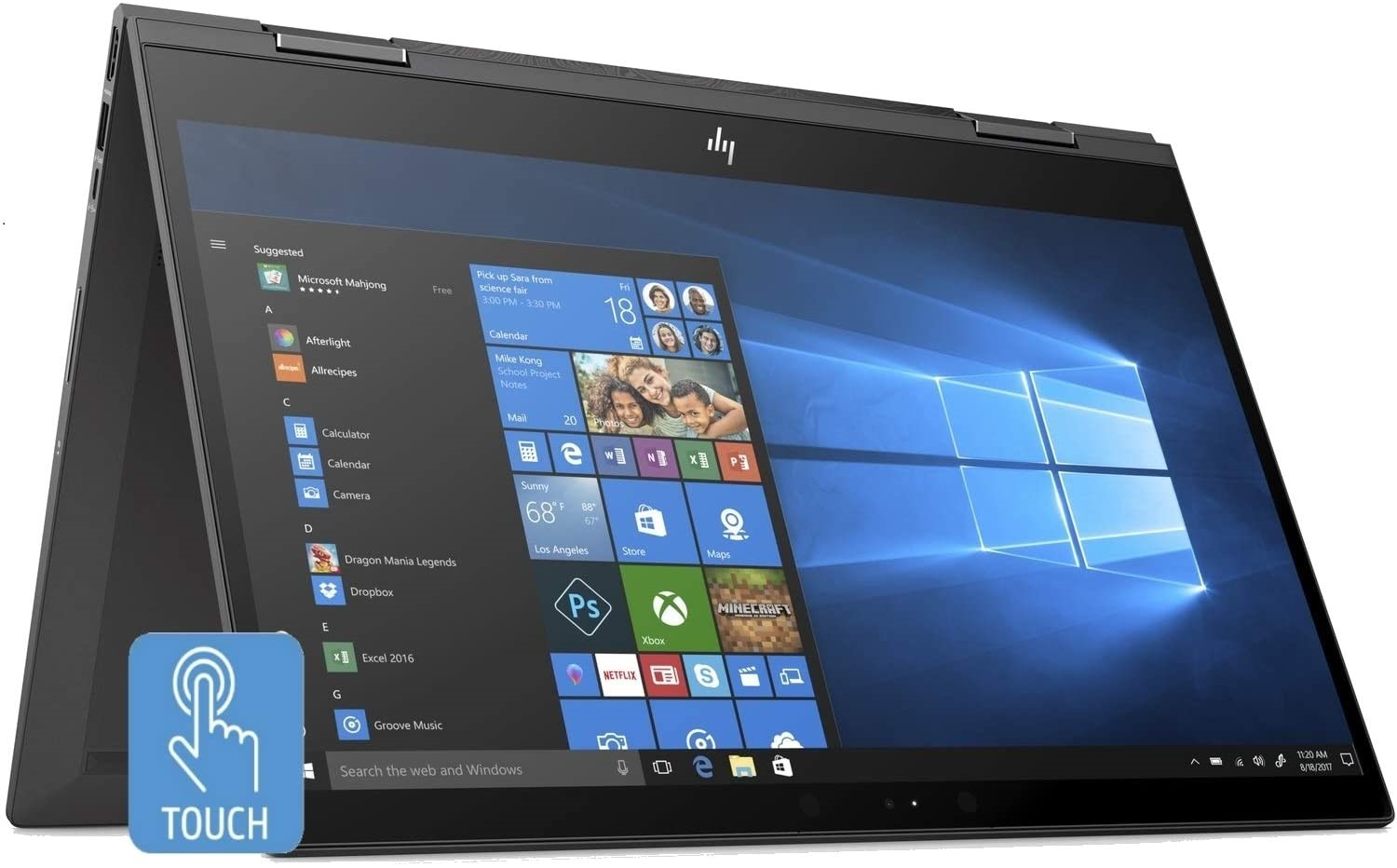 HP Envy x360 Touchscreen Laptop