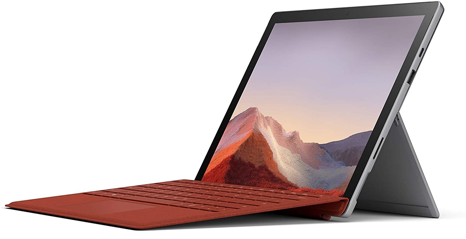 Microsoft Surface Pro 7 (Cheap Laptops for Taking Notes)