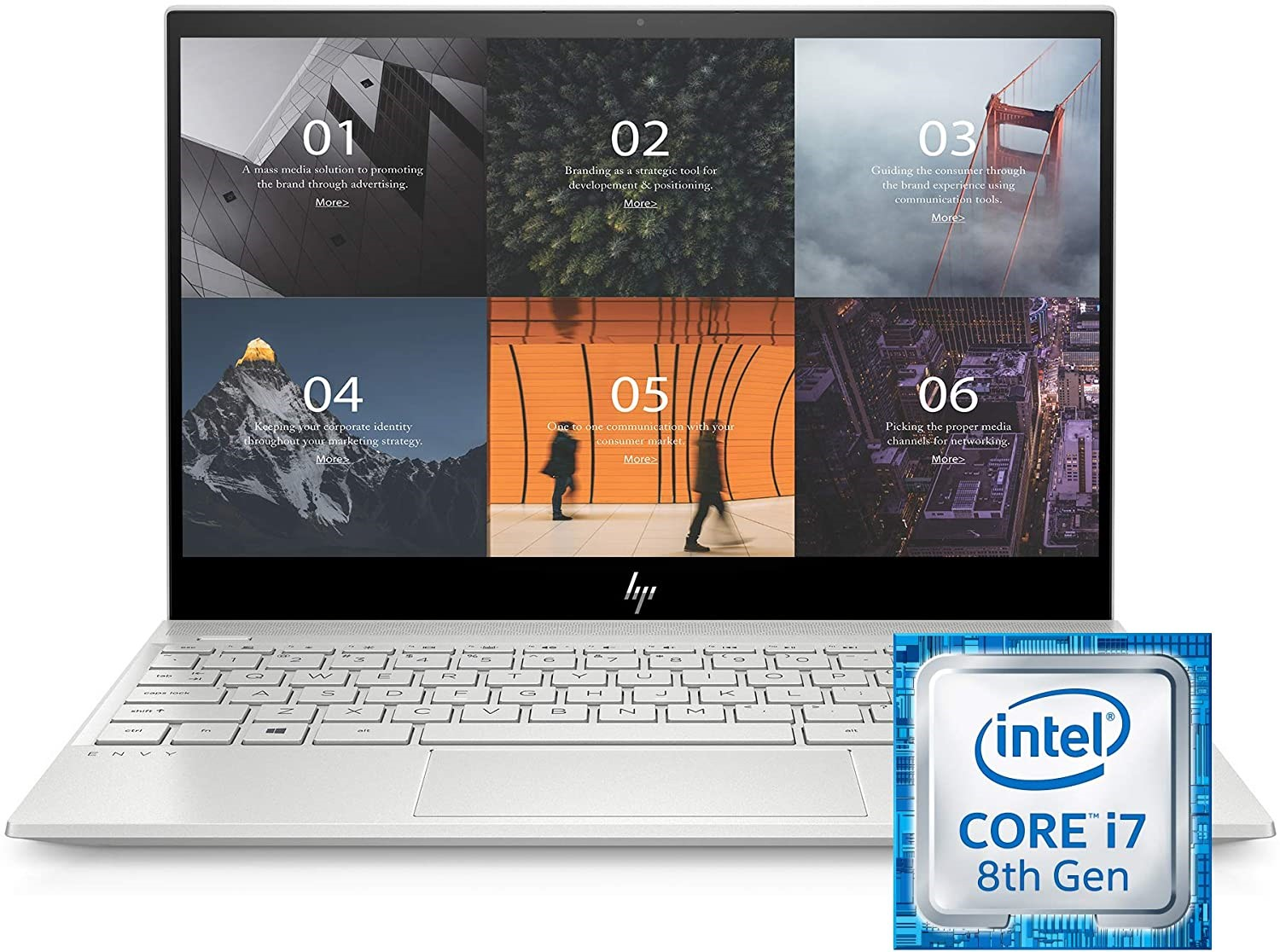 HP ENVY 13.3 Inches Thin Laptop