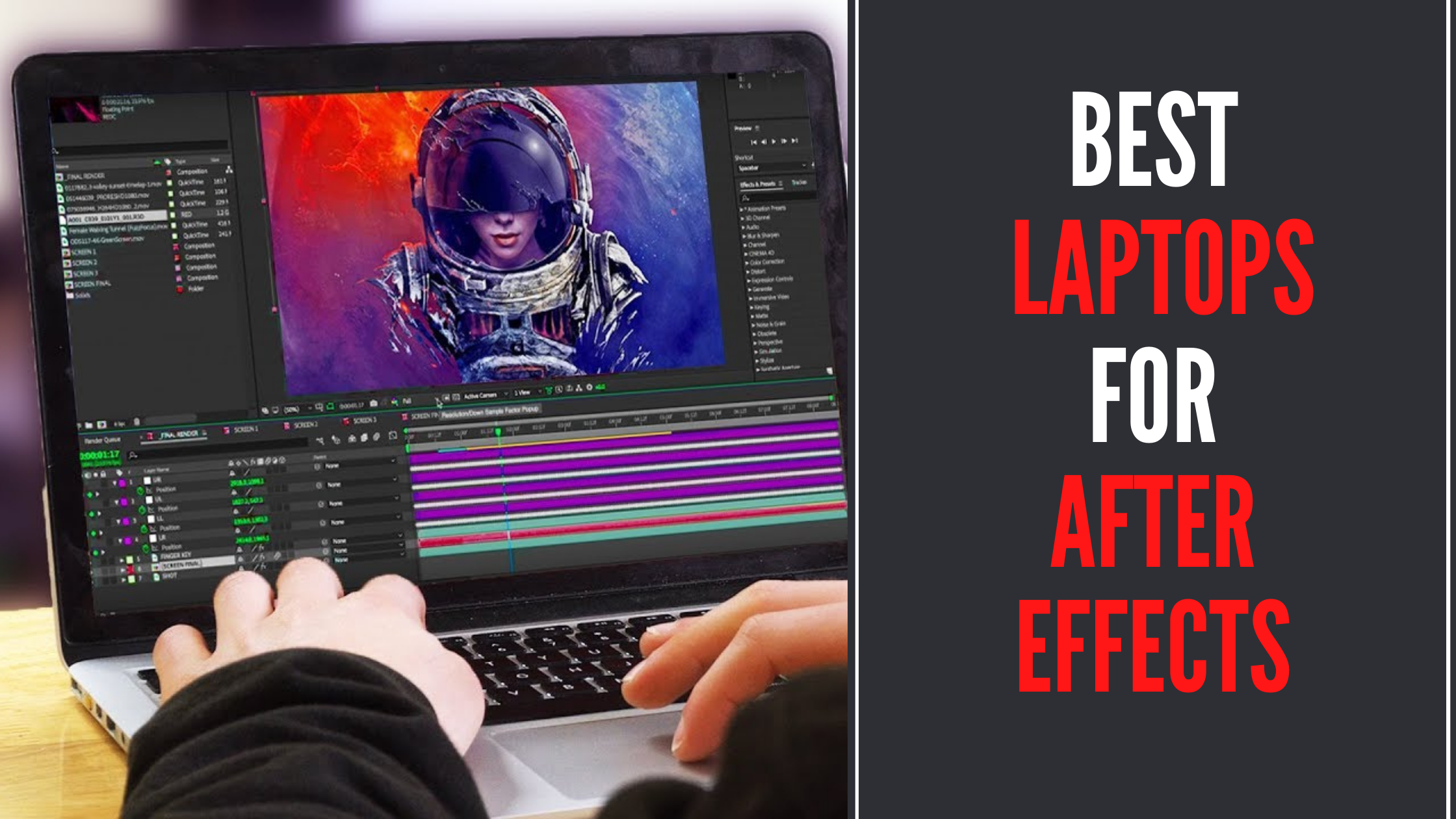 8 Best Laptops For After Effects In 2021 [Expert Recommendations]